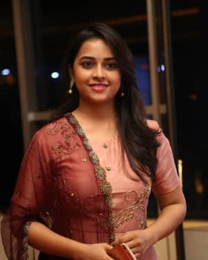 Actress Sri Divya Stills at Abhimanyudu Special Screening | Picture 1584118
