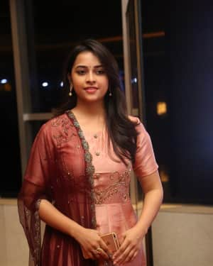 Actress Sri Divya Stills at Abhimanyudu Special Screening | Picture 1584111