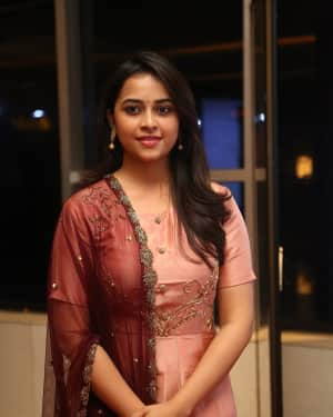 Actress Sri Divya Stills at Abhimanyudu Special Screening | Picture 1584106