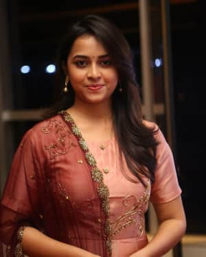 Actress Sri Divya Stills at Abhimanyudu Special Screening | Picture 1584123