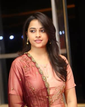 Actress Sri Divya Stills at Abhimanyudu Special Screening | Picture 1584125