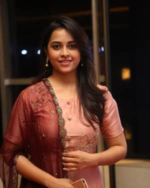 Actress Sri Divya Stills at Abhimanyudu Special Screening | Picture 1584115