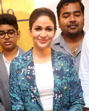 Actress Lavanya Tripathi Stills at Virtua Fitness Work Out Hub Launch