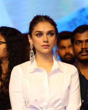 Actress Aditi Rao Hydari Stills at Sammohanam Pre Release Event