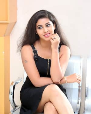 Actress Pavani Hot Stills at Mr Homanand Audio Launch