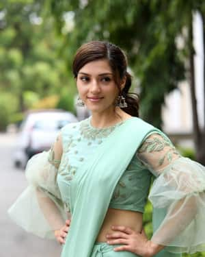 Actress Mehreen Kaur Stills at Pantham Trailer Launch | Picture 1586878