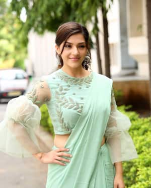 Actress Mehreen Kaur Stills at Pantham Trailer Launch | Picture 1586868