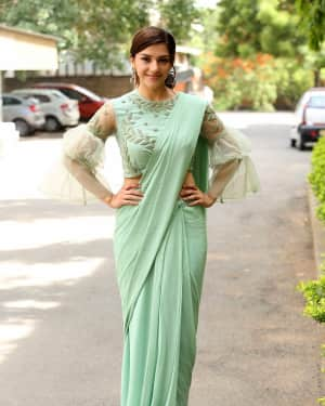 Actress Mehreen Kaur Stills at Pantham Trailer Launch | Picture 1586886