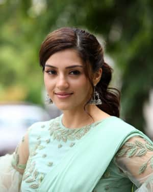 Actress Mehreen Kaur Stills at Pantham Trailer Launch | Picture 1586877