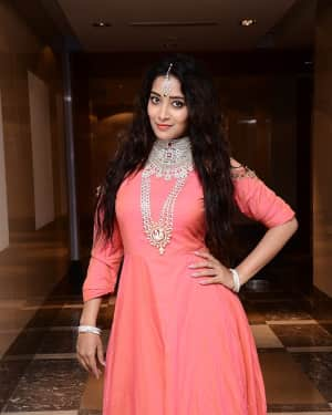 Actress Bhanu Sri at Malabar Gold Collection Launch Photos