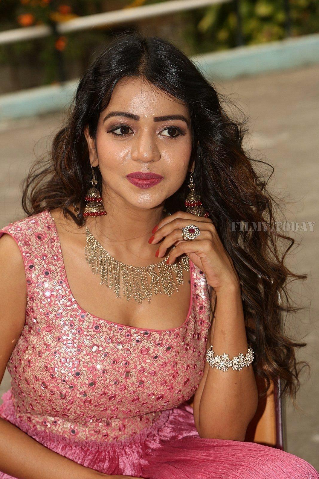 Actress Bhavya Sri Hot Stills at National Silk Expo at Sri ...