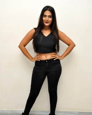 Actress Neha Deshpande Hot Stills at Anu Vamsi Katha Movie Audio Launch