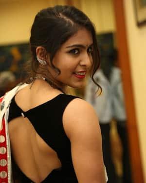 Actress Samyuktha Hegde Hot Stills at Kirrak Party Movie Pre Release Event   Picture 1571563