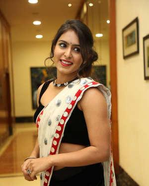 Actress Samyuktha Hegde Hot Stills at Kirrak Party Movie Pre Release Event   Picture 1571546