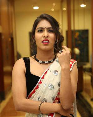 Actress Samyuktha Hegde Hot Stills at Kirrak Party Movie Pre Release Event   Picture 1571569