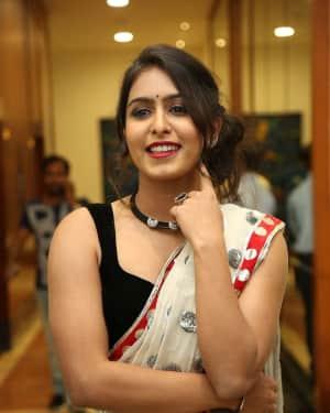 Actress Samyuktha Hegde Hot Stills at Kirrak Party Movie Pre Release Event   Picture 1571539