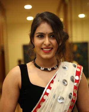 Actress Samyuktha Hegde Hot Stills at Kirrak Party Movie Pre Release Event   Picture 1571552