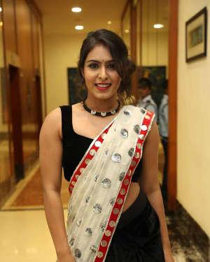 Actress Samyuktha Hegde Hot Stills at Kirrak Party Movie Pre Release Event   Picture 1571528