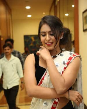 Actress Samyuktha Hegde Hot Stills at Kirrak Party Movie Pre Release Event   Picture 1571534