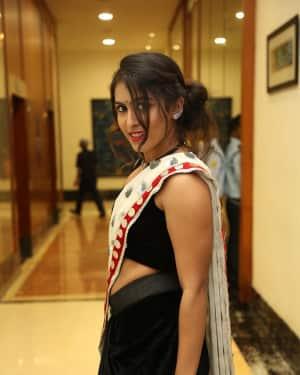 Actress Samyuktha Hegde Hot Stills at Kirrak Party Movie Pre Release Event   Picture 1571566