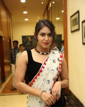 Actress Samyuktha Hegde Hot Stills at Kirrak Party Movie Pre Release Event   Picture 1571532