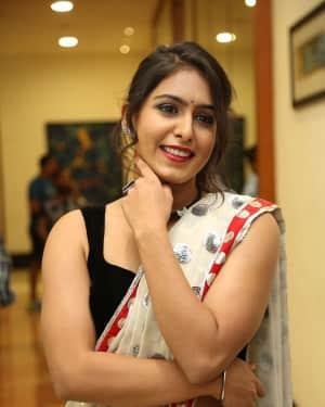 Actress Samyuktha Hegde Hot Stills at Kirrak Party Movie Pre Release Event   Picture 1571537