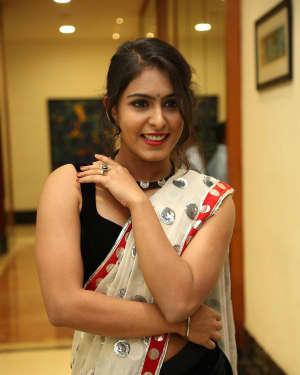Actress Samyuktha Hegde Hot Stills at Kirrak Party Movie Pre Release Event   Picture 1571523
