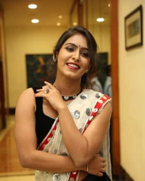 Actress Samyuktha Hegde Hot Stills at Kirrak Party Movie Pre Release Event   Picture 1571526