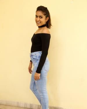 Actress Samyuktha Hegde Stills at Kirrak Party Success Meet | Picture 1572142