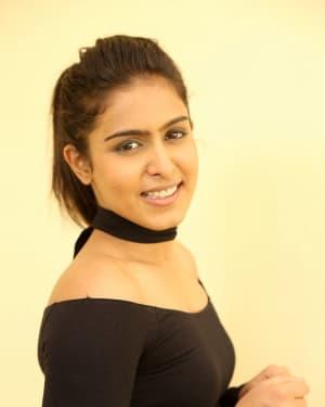 Actress Samyuktha Hegde Stills at Kirrak Party Success Meet | Picture 1572134