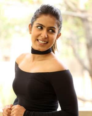 Actress Samyuktha Hegde Stills at Kirrak Party Success Meet | Picture 1572143