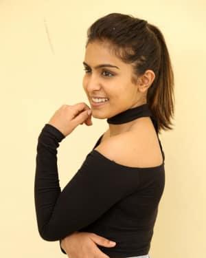 Actress Samyuktha Hegde Stills at Kirrak Party Success Meet | Picture 1572130