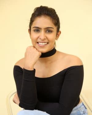 Actress Samyuktha Hegde Stills at Kirrak Party Success Meet | Picture 1572124