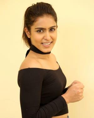 Actress Samyuktha Hegde Stills at Kirrak Party Success Meet | Picture 1572135