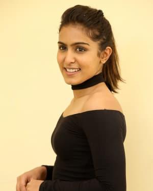Actress Samyuktha Hegde Stills at Kirrak Party Success Meet | Picture 1572137
