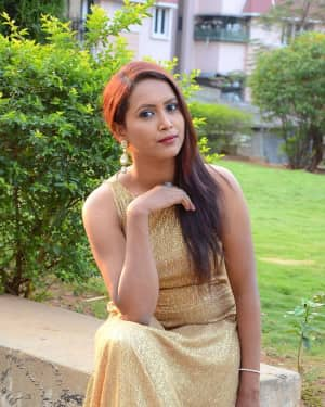 Actress Anu Stills at Desire Telugu Movie Trailer Launch