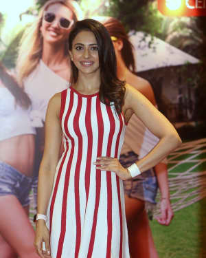 Rakul Preet Singh Launches Strip To Short Campaign Photos