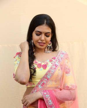 Actress Shivani Rajashekar Stills at 2 States Telugu Movie Opening | Picture 1573562