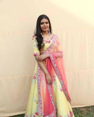 Actress Shivani Rajashekar Stills at 2 States Telugu Movie Opening | Picture 1573558