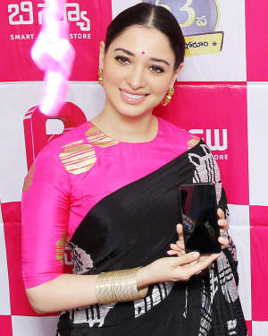 Photos: Tamanna Bhatia Launches B New Mobile Store at Proddatur