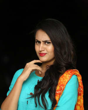 Anika Rao - Super Sketch Telugu Film Press Meet Photos