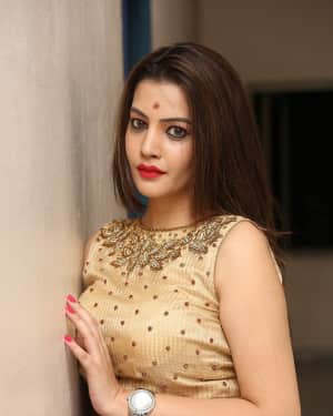 Actress Deeksha Panth Stills at Operation Duryodhana Audio Launch