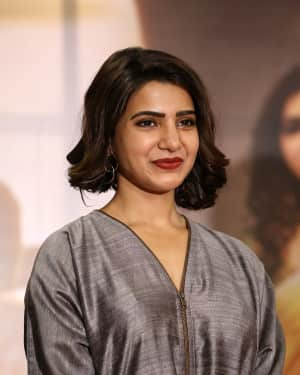 Actress Samantha Stills at Mahanati Film Success Meet