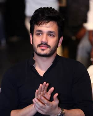 Akhil Akkineni - Officer Telugu Movie Pre Release Event Photos