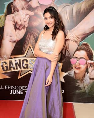 Actress Swetha Basu Prasad Stills at Gangsters Amazon Prime Video Special Screening