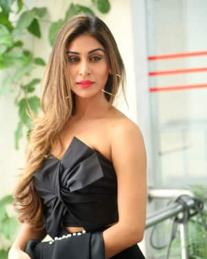 Myra Sareen - Officer Telugu Movie Press Meet Photos