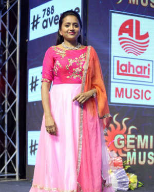 Suma Tv Anchor - Amar Akbar Anthony Film Pre Release Event Photos
