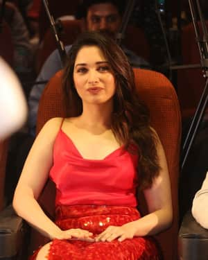 Tamanna Bhatia - Next Enti Movie Trailer Launch Photos