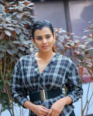 Hebah Patel - 24 Kisses Movie Press Meet Photos