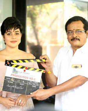 Sri Krishna Creations Production No 1 Movie Opening Photos